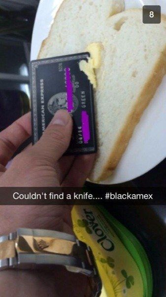 Your silverware is so basic | 17 Times The Rich Kids Of Snapchat Ruined Everything
