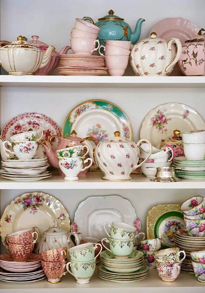 I want my cupboard to look like this.