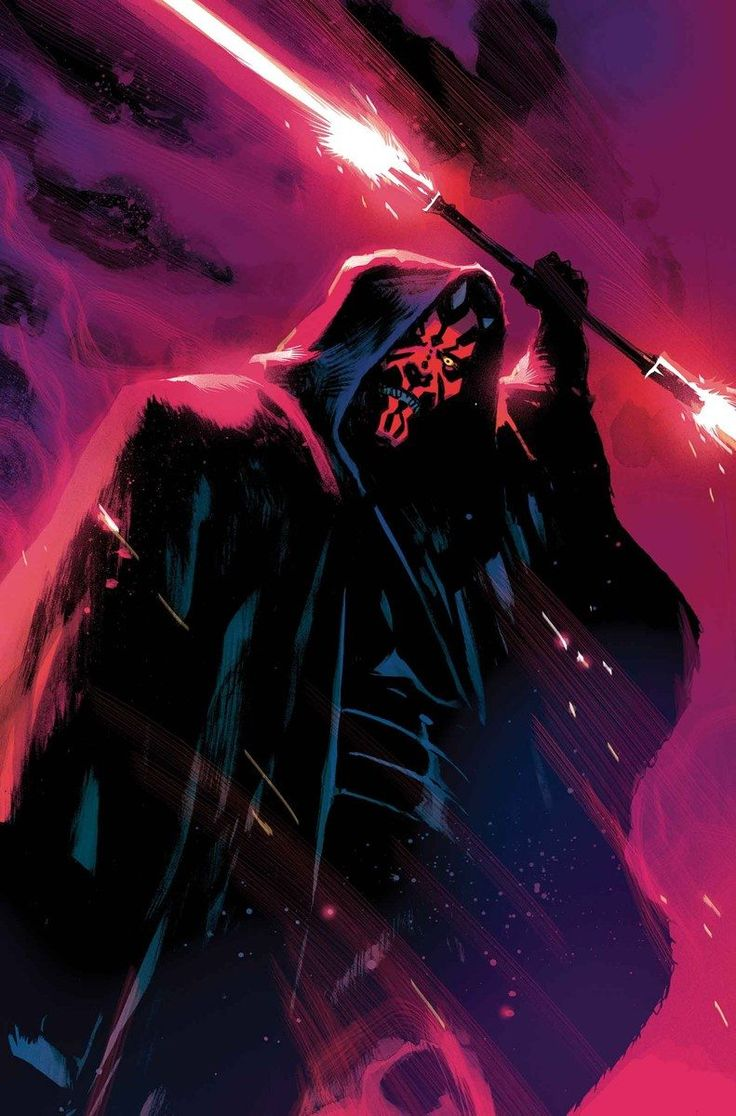 Darth Maul #1 variant cover by Rafael Albuquerque *