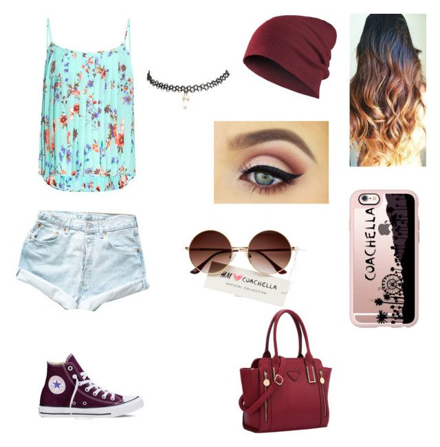 """""""Untitled #37"""" by nat2124 on Polyvore featuring Levi's, Raey, Converse, Casetify and Wet Seal"""