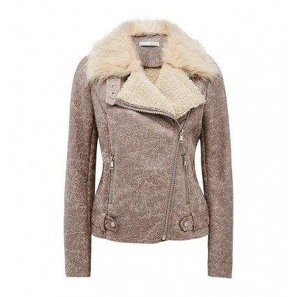 74.95 | Louisa shearling moto jacket Buy Dresses, Tops, Pants, Denim, Handbags, Shoes and Accessories Online Buy Dresses, Tops, Pants, Denim, Handbags, Shoes and Accessories Online