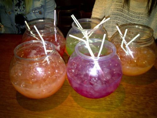 Best 25 fishbowl drink ideas on pinterest most popular for Fish bowl drink recipe