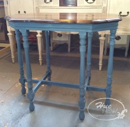 antique six legged side table painted woodpaint ideasconsole