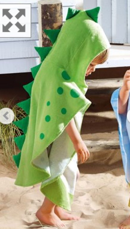 Love this Dinosaur Poncho from Next! Cute :)