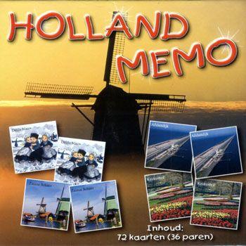 MEMORY SPEL HOLLAND 72 kaarten