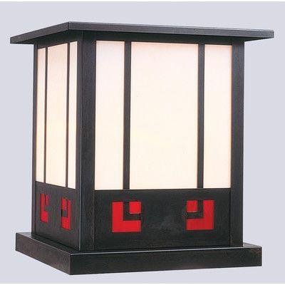 Arroyo Craftsman State Street 1 Light Outdoor Pier Mount Light Size: