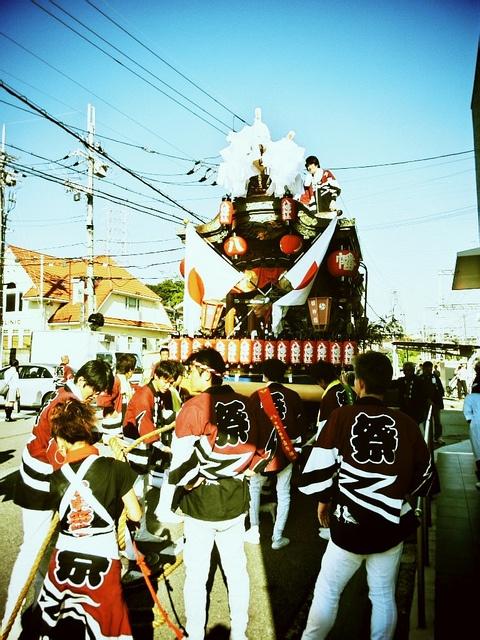 だんじり祭り 5 by + n9ne +, via Flickr