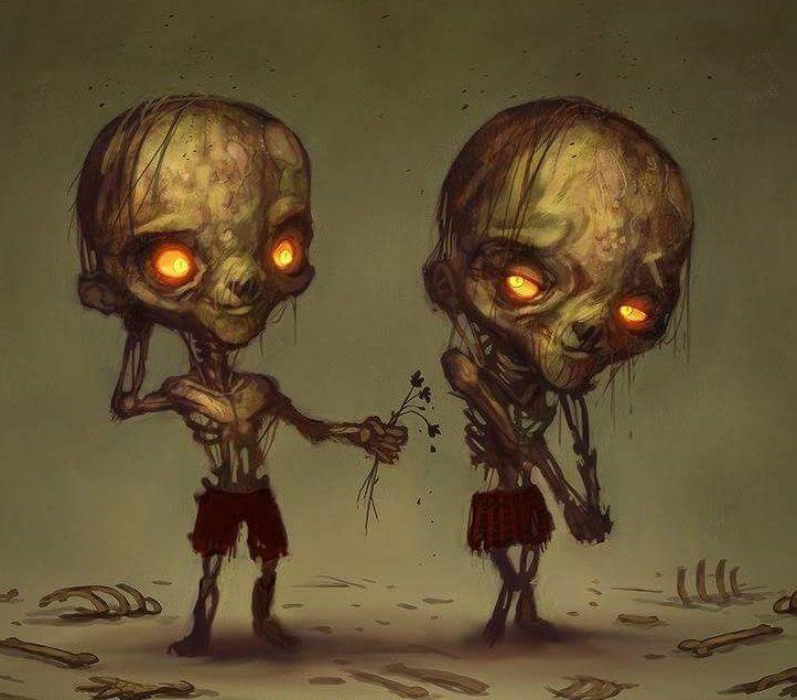 Веселые зомби картинки, картинки