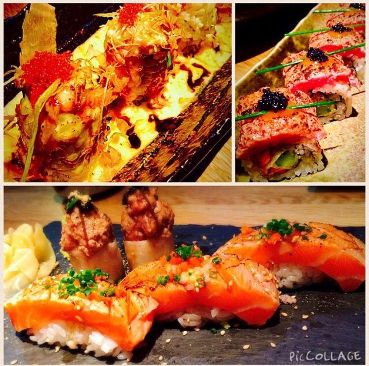 Dozo Sushi // ft. Volcano maki; aburi beef maki; aburi salmon // 32 Old Crompton Street #londonfoodie #sushi #japanese #dozosushi #whaleyyfoodfinds