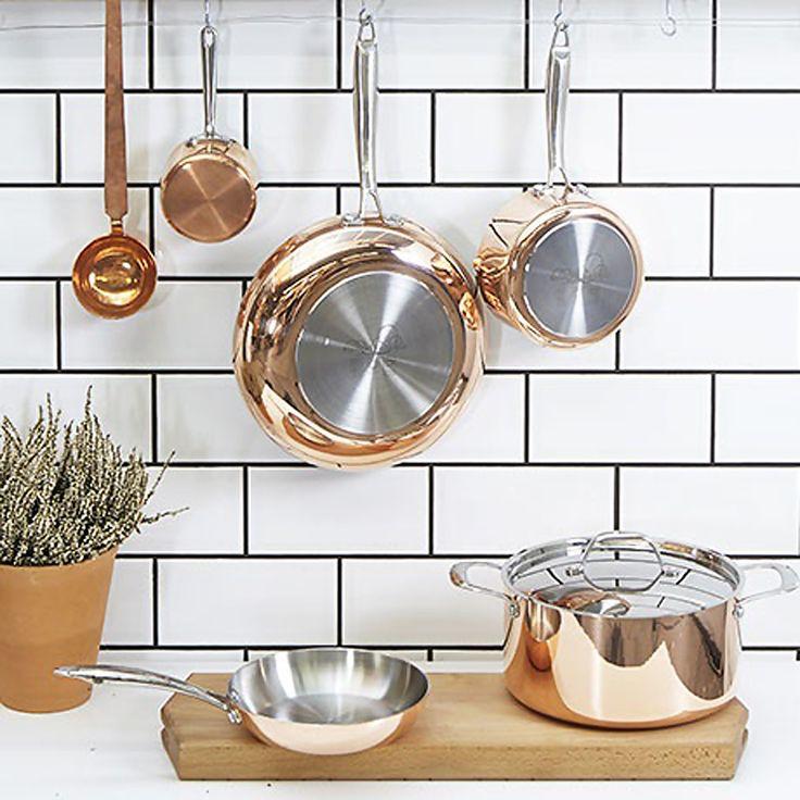les 25 meilleures id es concernant casserole cuivre sur pinterest casserole en cuivre poignee. Black Bedroom Furniture Sets. Home Design Ideas