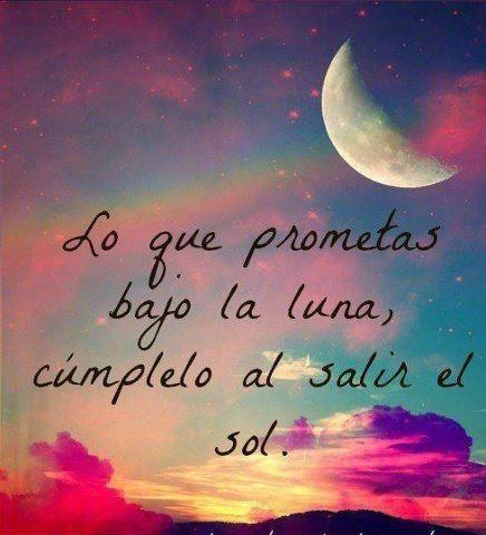 promesas bajo la Luna