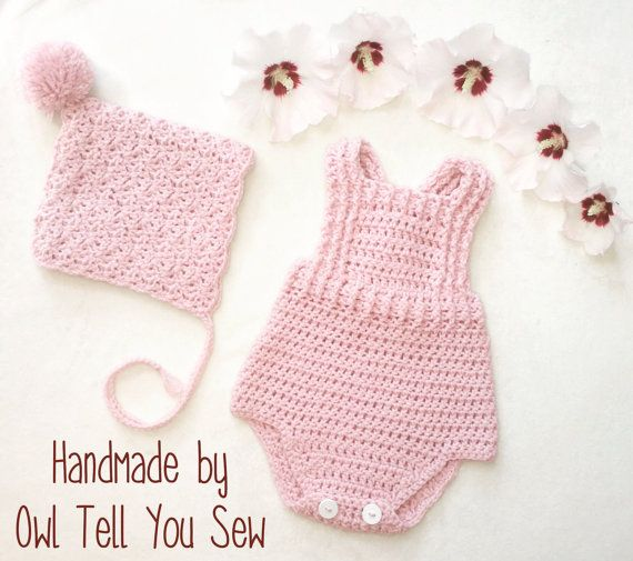 Hey, I found this really awesome Etsy listing at https://www.etsy.com/listing/268216216/crochet-baby-romper-crochet-romper