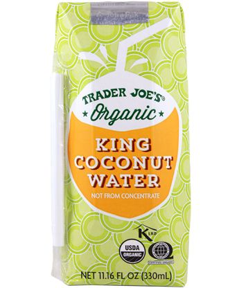 Organic King Coconut Water   Trader Joe's