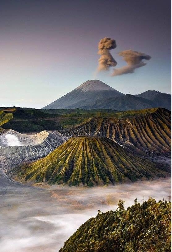 Mount Bromo, Java, Indonesia --> must go back to Surabaya