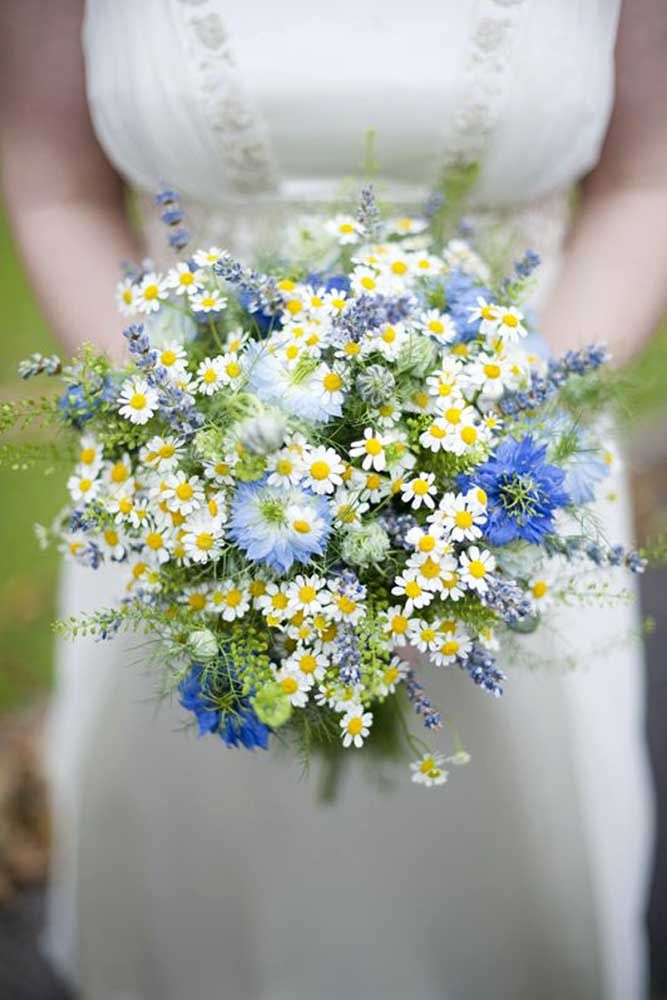 27 Wildflower Wedding Bouquets Not Just For The Country Wedding ❤ See more: http://www.weddingforward.com/wildflower-wedding-bouquets/ #weddings