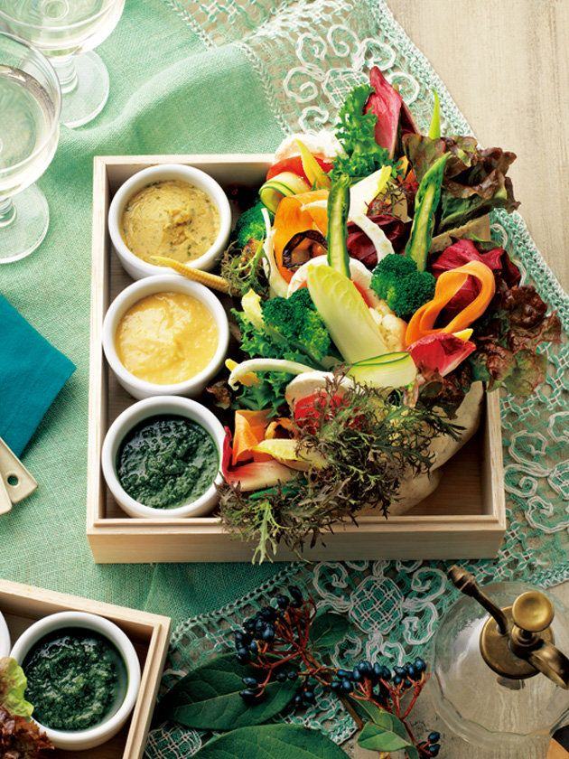 【ELLE a table】感謝の気持ちを込めた、野菜のブーケBENTOレシピ|エル・オンライン