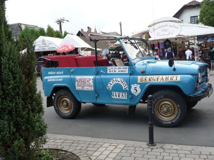 Jeep tour over de vulkaan van Badacsony aan het #Balaton in #Hongarije: www.vakantiehuis-balaton.nl