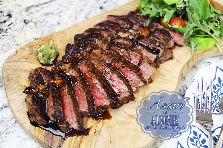 The Best Teriyaki Steak Recipe and Video