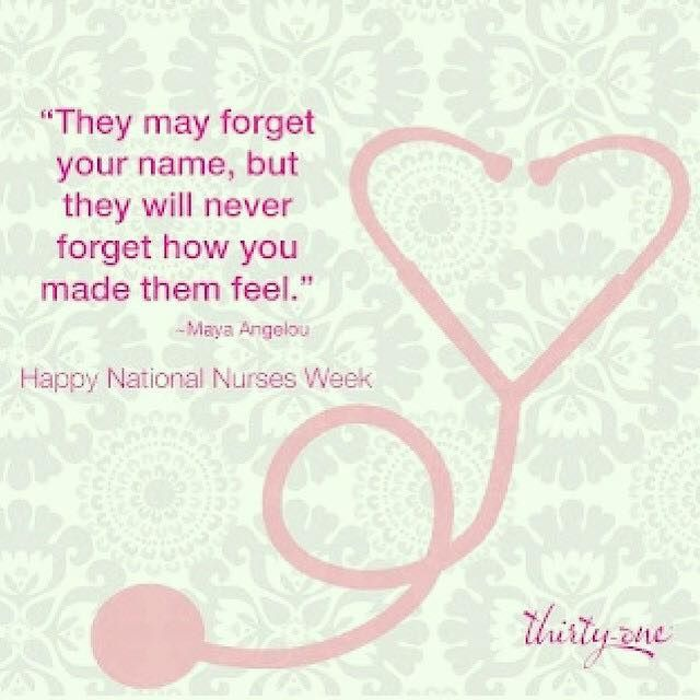Happy National Nurses Week to nurses everywhere – especially those in our RN to BSN program!