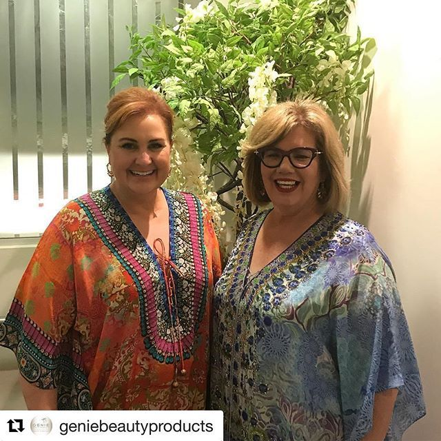 So great having these two lovely ladies together in our studio.  We hope you enjoyed Lisa's genie event and Christine's Silk Islands event. Did you stock up on lots of Genie products and Silk island Kaftans?  #tvsn #tvshopping #tvsnfashion #tvsnbeauty #tv