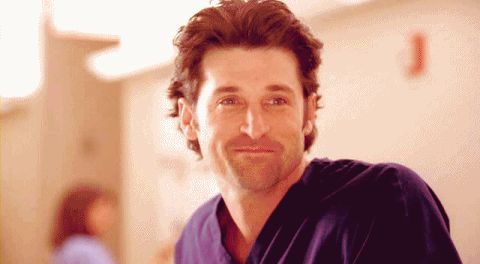 …and he always had a gloriously cheeky way of looking at someone.   19 Derek Shepherd Moments That Will Now Break Your Heart
