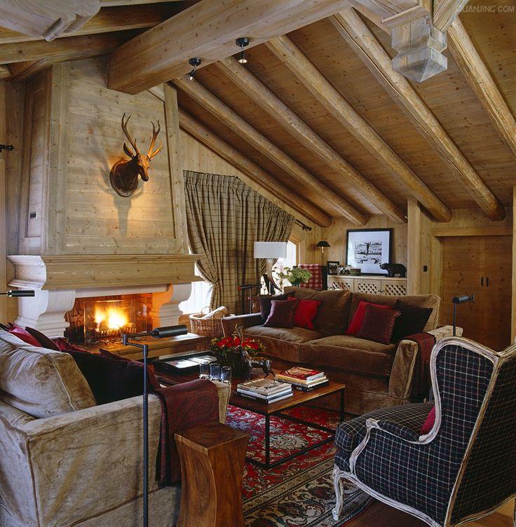 47 best rustic elegance images on pinterest rustic for Rustic elegant homes