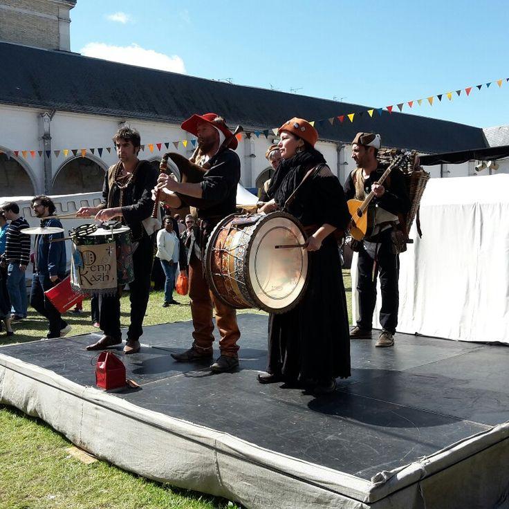 Marché médiéval fête Johannique Orléans Campo Santo
