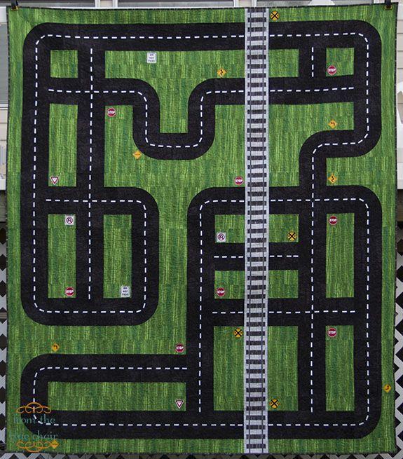 ¿Quién dijo que el quilt era aburrido? #carretera #quilt #proyecto