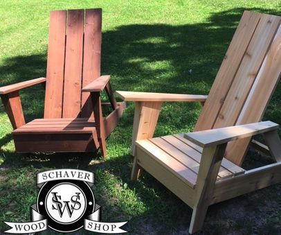 Modern Style Adirondack Chair