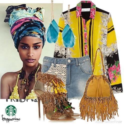 африканский стиль в одежде - Поиск в Google