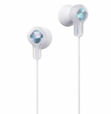 JVC Kids 6+ Tiny Phones Earbuds White Volume Limiting Hearing Protection New