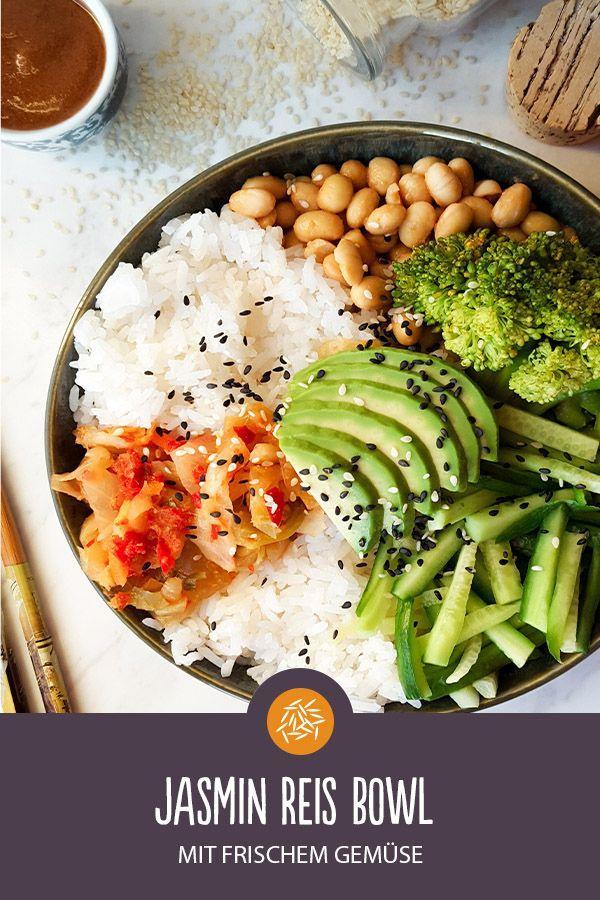 1937fd39ae Jasmin Reis Bowl | Rezept in 2019 | Asiatische Reisküche ...