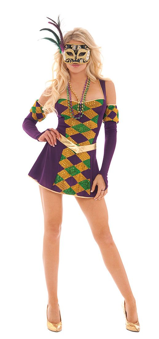 Mardi Gras Maven Costume - Mardi Gras Costumes