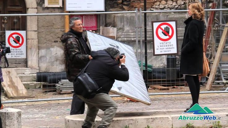 L'AQUILA: ''I CESARONI'' GIRANO IN CENTRO STORICO TELECAMERE ACCESE SULL...