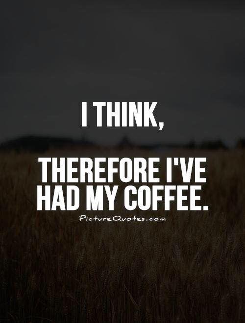 Morning philosophy