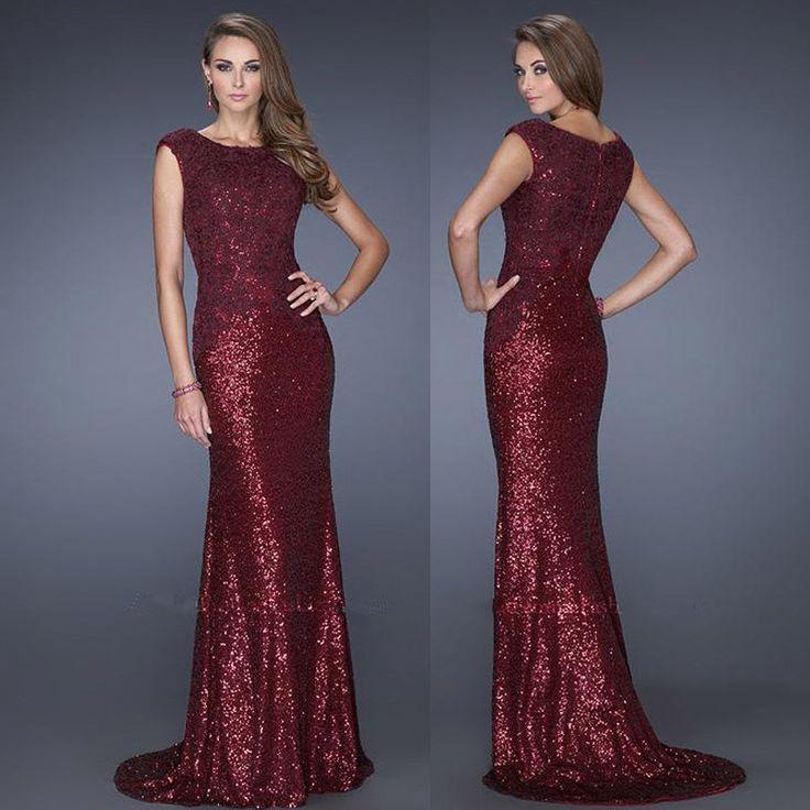 marsala sequin dress   ... Elegant-Scoop-Cap-Sleeve-Lace-Sequined-Marsala-Popular-Long-Formal.jpg