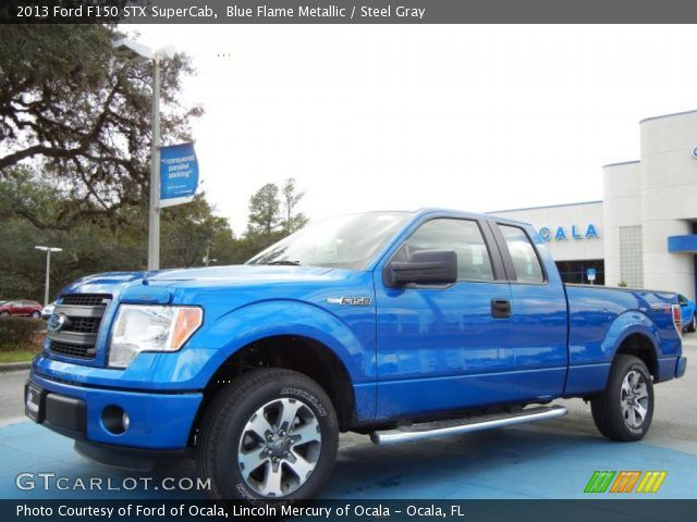 2013 ford f150 supercab stx blue | 2013 Ford F150 STX SuperCab in Blue Flame Metallic. Click to see large ...
