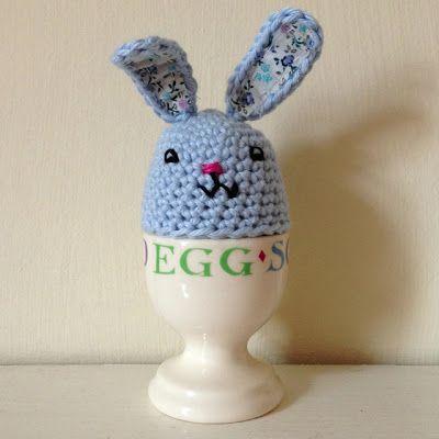 free #crochet pattern - bunny egg easter pattern