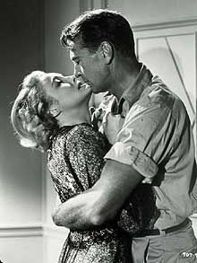 Patricia Neal and Gary Cooper | Patricia Neal and Gary Cooper in The Fountainhead