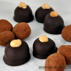 Posts, Spices and Chocolate truffles on Pinterest