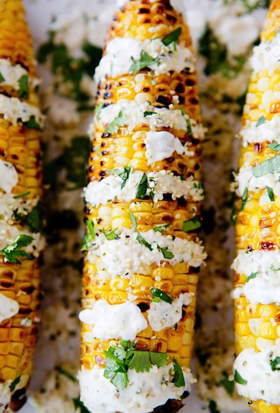 Etc Inspiration Blog Mexican Street Corn Recipe Via A House In The Hills Vegan Gluten Free With Cilantro Close Up 3 photo Etc-Inspiration-Blog-Mexican-Street-Corn-Recipe-Via-A-House-In-The-Hills-3.jpg