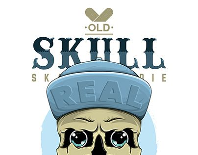 "Check out new work on my @Behance portfolio: ""Old Skulls •Skate•"" http://on.be.net/KIWaDx"