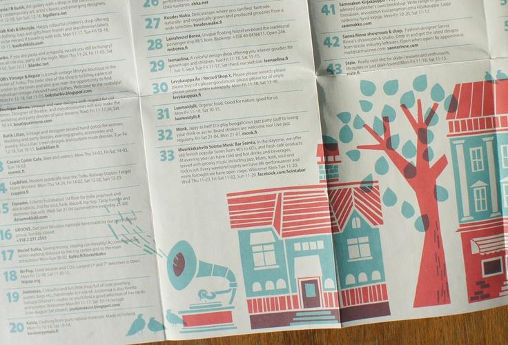 "Polkka Jam ""Turku Treasure Map"" produced and illustrated by Kristiina Haapalainen & Sami Vähä-Aho 2012."