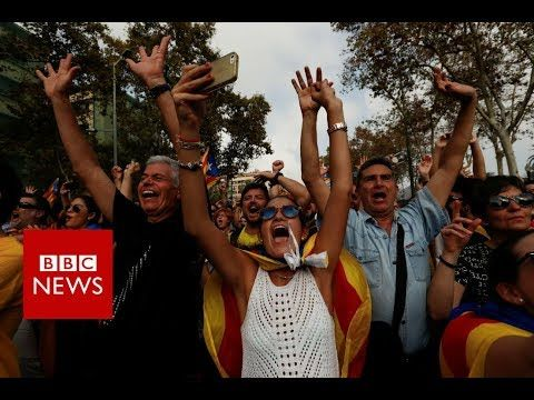BREAKING NEWS: Catalonia Declares Independence - BBC News BBC News