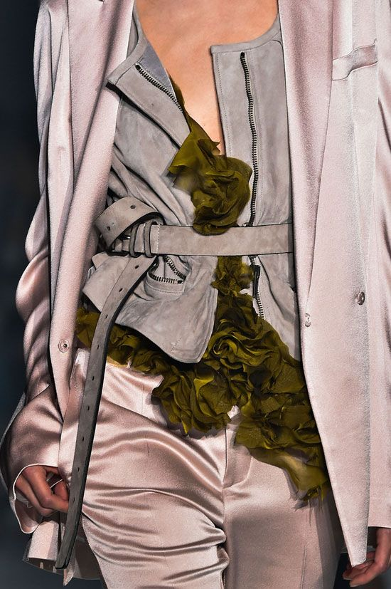 Haider Ackermann at Paris Spring 2015 (Details)                                                                                                                                                                                 More