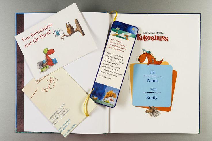 """Personalisierbares Buch von """"Der kleine Drache Kokosnuss"""" - cool"""