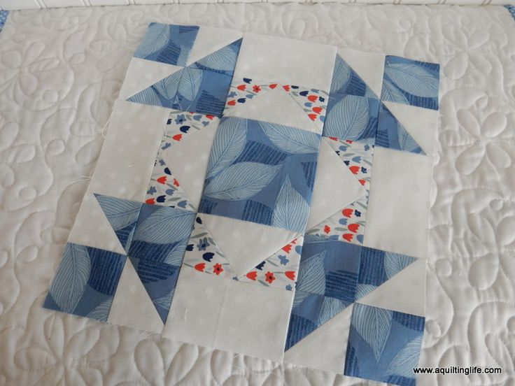Quilting Life Block of the Month | March | A Quilting Life - a quilt blog