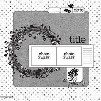 PageMaps 12x12 layout sketch