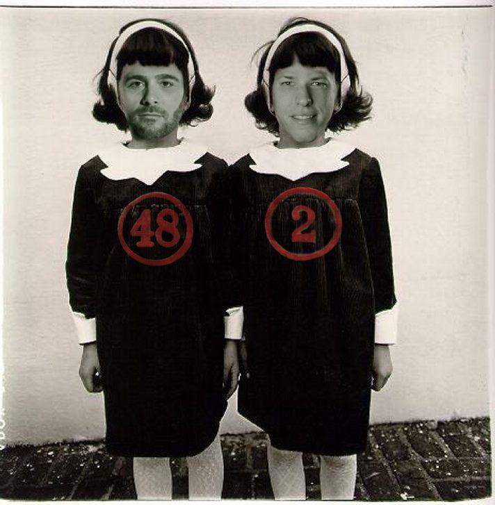 Jimmie Johnson & Brad Keselowski... Twins... Neckand neck heading into Phoenix