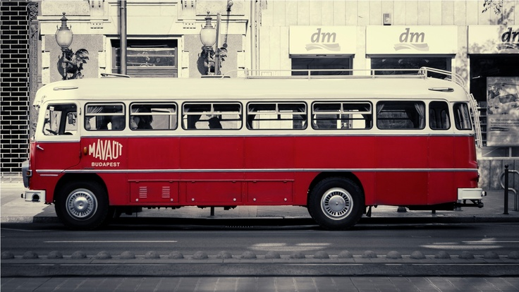 Old Budapest City Bus